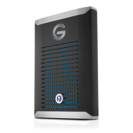 G-Technology G-DRIVE mobile Pro SSD 1TB Black