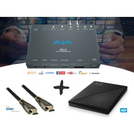 AJA HELO Streaming-Bundle