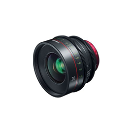 Canon Prime Lens Cine Style EF 20mm T1.5